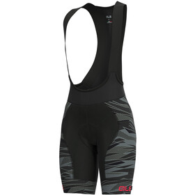 Alé Cycling Graphics PRR Rock Bib Shorts Women black/gerbera